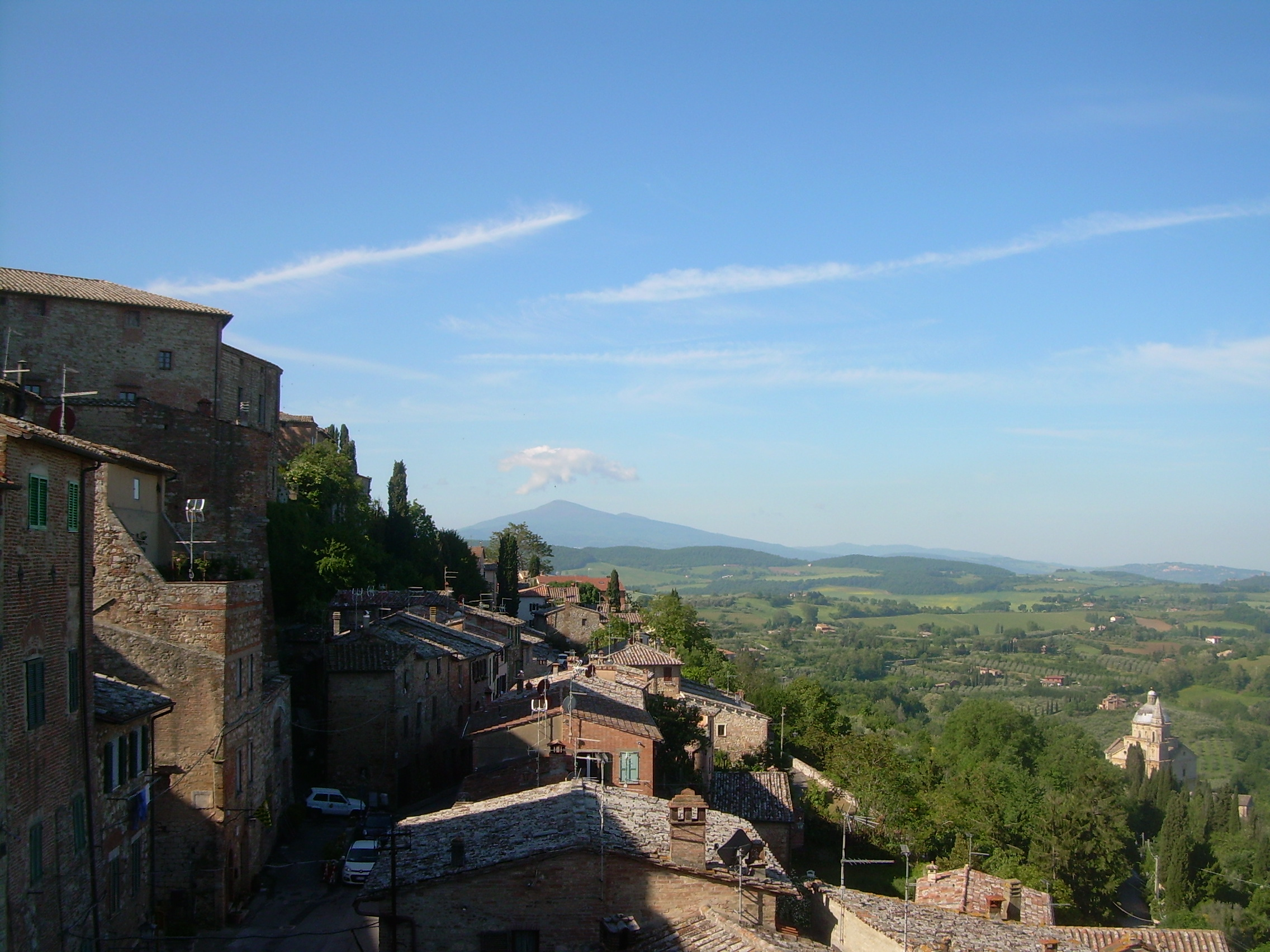 A View South from Montepulciano